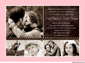 vzor našeho svatebního oznámení