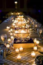 ..svíčky všude kam se podíváš :)