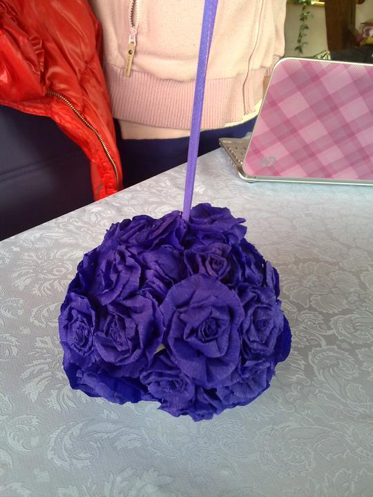 My - tieto som vyrobila s pomocou mami a sestry