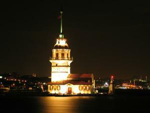 z veze vidno aj sultansky palac