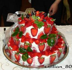 dortík bude ovocný mňam