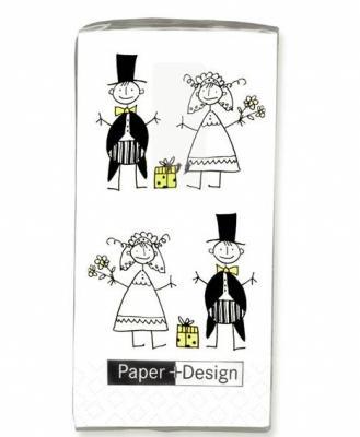 Květnová svatba 3.5.2008 - Pet'a a Míša - samozřejmě musíme ladit is papírovými kapesníčkami