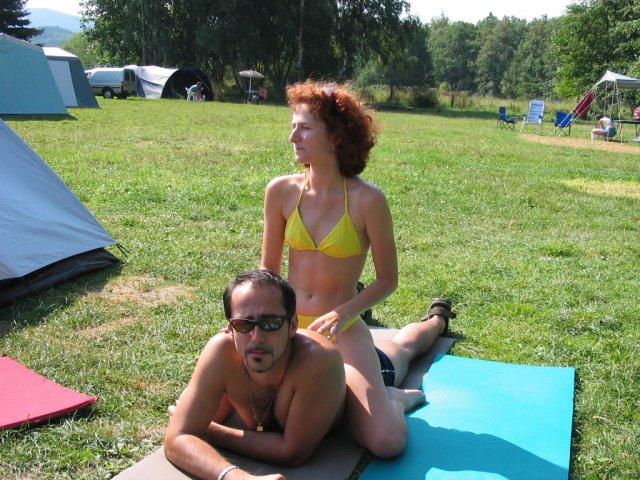 Nejlepší den celé dovolené - celý den relax na koupališti