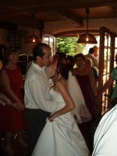 první novomanželský tanec...