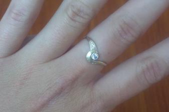 můj snubní prstýnek,nosím ho už 3 roky a konečně se podařilo