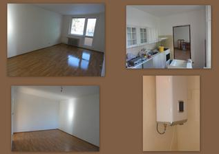 den 6 - obývák na komplet, malování kuchyně a připevněný bojler
