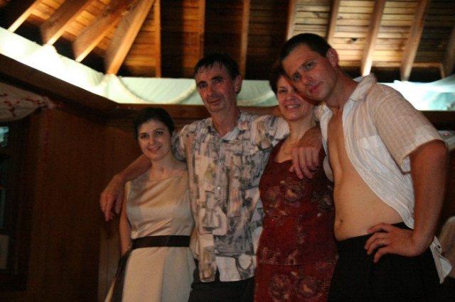 Blanka{{_AND_}}Mirko - manzel s rodicmi a so setrou uz nadranom