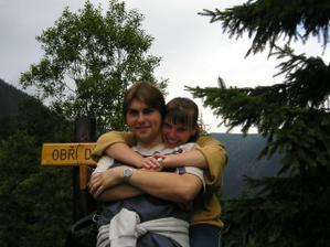 na naši druhé společné dovolené - tj v roce 2003 (taková jsme byli kuřata)