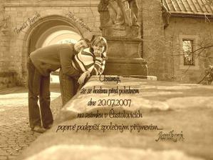 a nakonec konečně svatební oznámení :))))