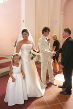 ségra chtěla být taky za nevěstu..je jako malá princezna
