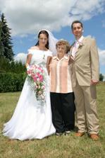 s babičkou nevěsty