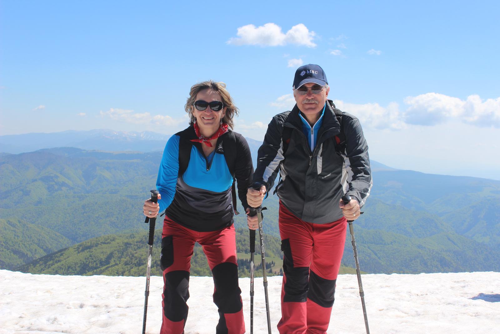 Silvia{{_AND_}}Július - Naše štvrté výročie sme oslávili - ako inak - na horách