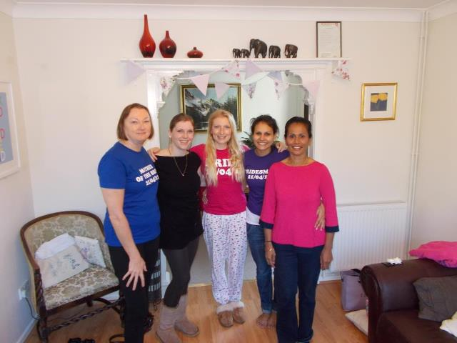 Laura Tomlin{{_AND_}}Vish Skinner - Mum, sis, me, sister in law and mother in law