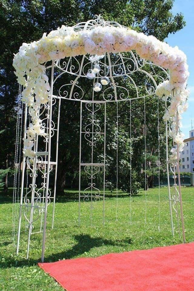 Svadobný altánok - romantický bez dekorácie - Obrázok č. 1