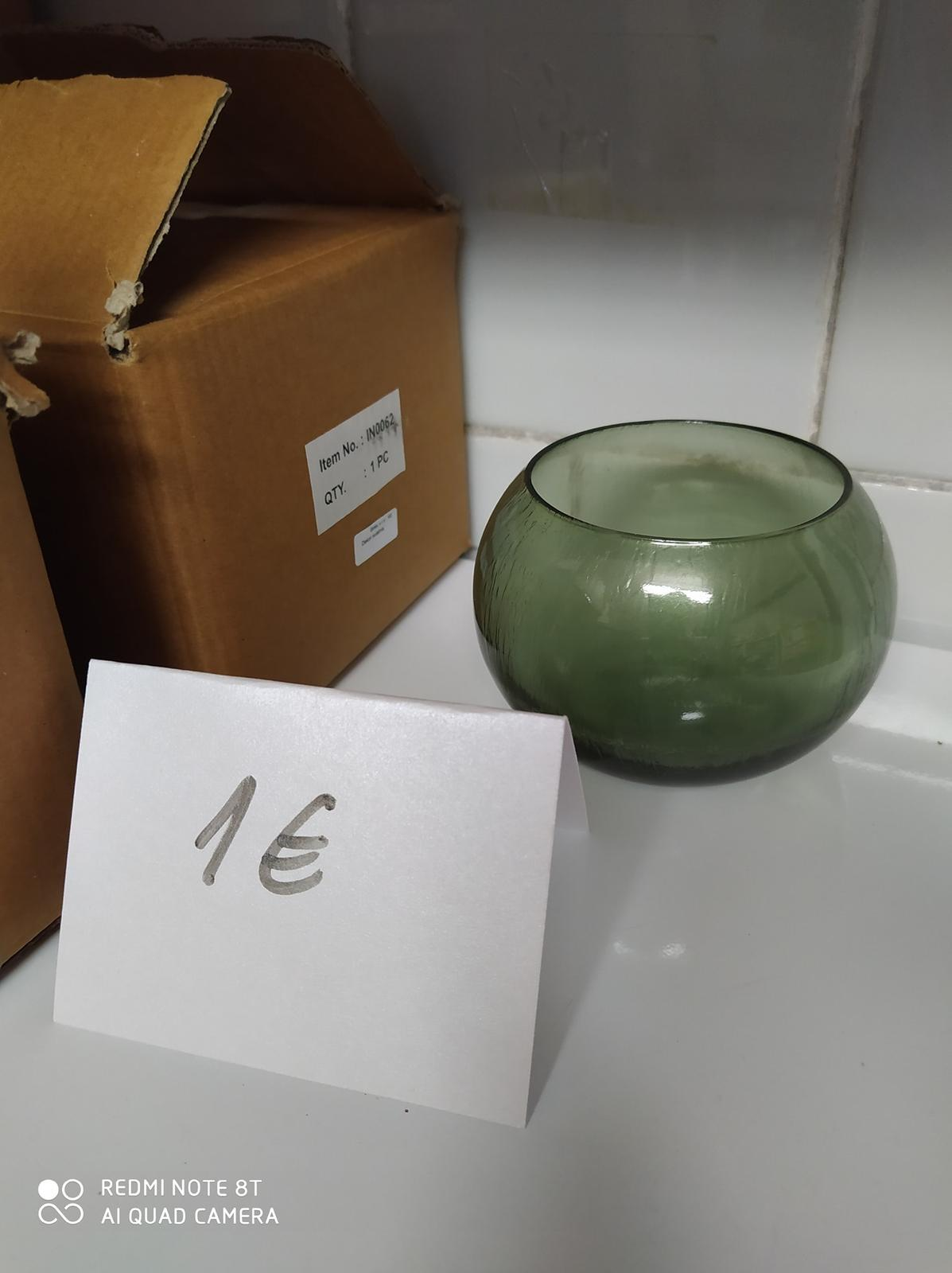 Zelene vazicky 8 ks - Obrázok č. 1