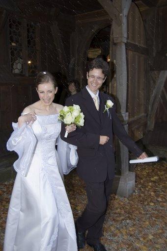 Čerství mladomanželia