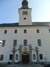 obřad na zámku v Třešti - snad venku