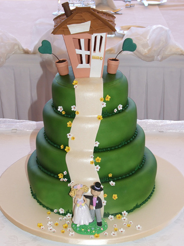 Svadobná torta - Obrázok č. 19