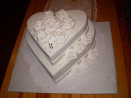Svadobne torty, zakusky - Obrázok č. 9