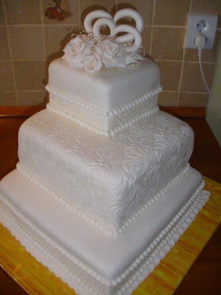 Svadobne torty, zakusky - Obrázok č. 56