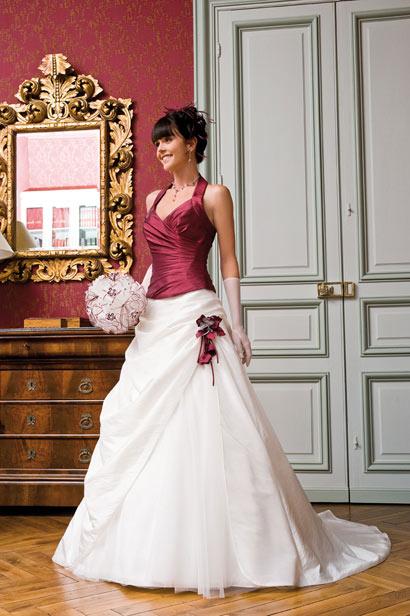 Svatební šaty - růžové i červené až do bordó - Obrázek č. 49