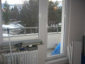nové okná...nevedeli sme sa ich dočkať...