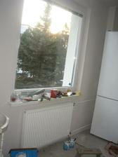 menili sme radiator...aby sa dali otvoriť dvierka na mrazničke.. :) ups.. :)