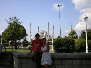 Modrá Mešita (Istanbul) - misto našich zásnub