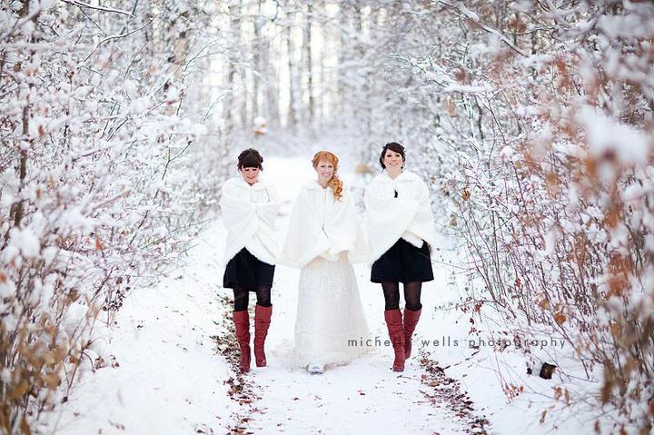 Svadba podľa obdobia: zima :) - Obrázok č. 10