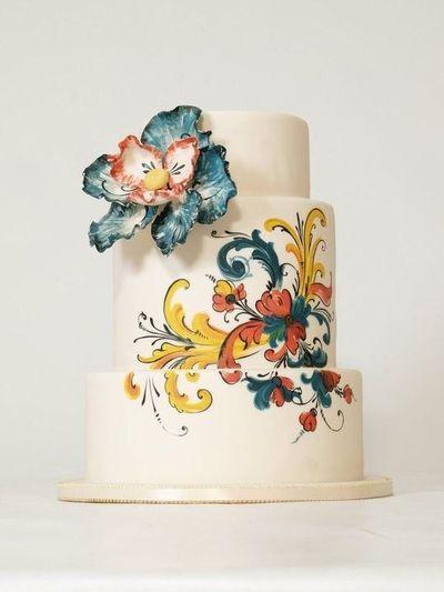 Torta ako umelecké dielo :) - Obrázok č. 1