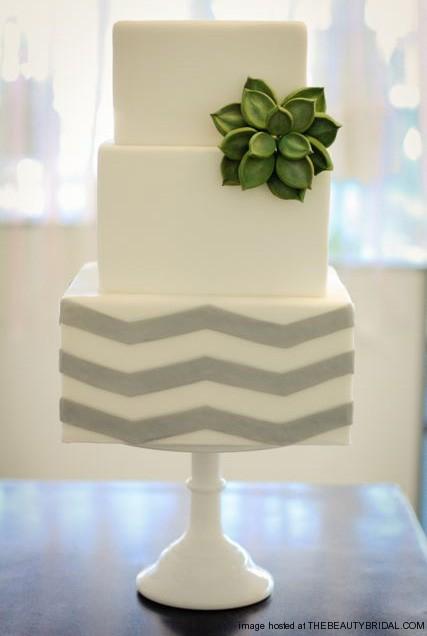 """""""Keby som sa mohla odviazať, moja svadba snov by vyzerala takto..."""" - Minimalistická torta"""