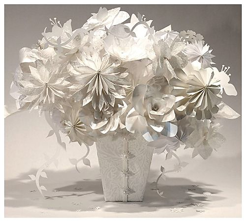Papierové kytice :) - Obrázok č. 5