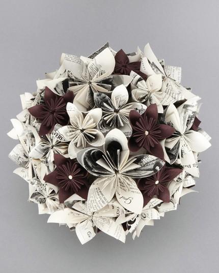 Papierové kytice :) - Obrázok č. 24
