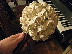 Papierové kytice :) - Obrázok č. 29