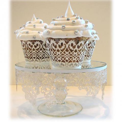 Svadobné cupcakes :) - Obrázok č. 7