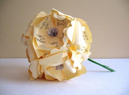 Papierové kytice :) - Obrázok č. 8