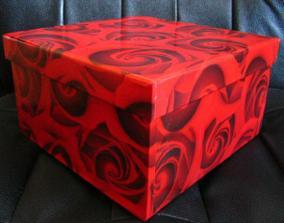 Krabička na redový tanec