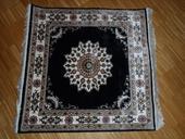 Turecký ručne tkaný, pravý kvalitný koberec, 91x92,