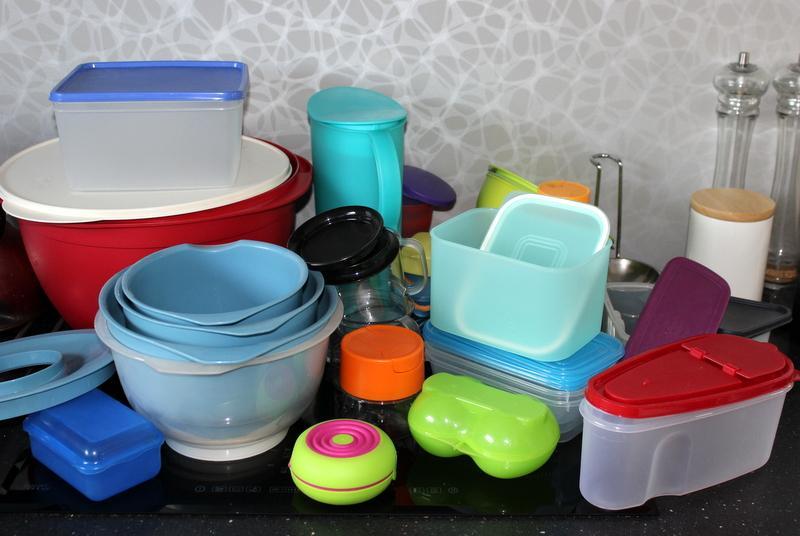 Rôzne Tupperware výrobky  - Obrázok č. 1
