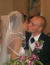 první polibek manželský:-)