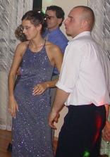 převlečená nevěsta:-)