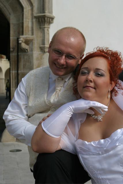 Sonka a Julko - 9.9.2006 - rukavicky vo svadobny den