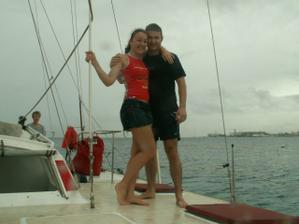 Takto sme na druhy den oslavovali na lodi