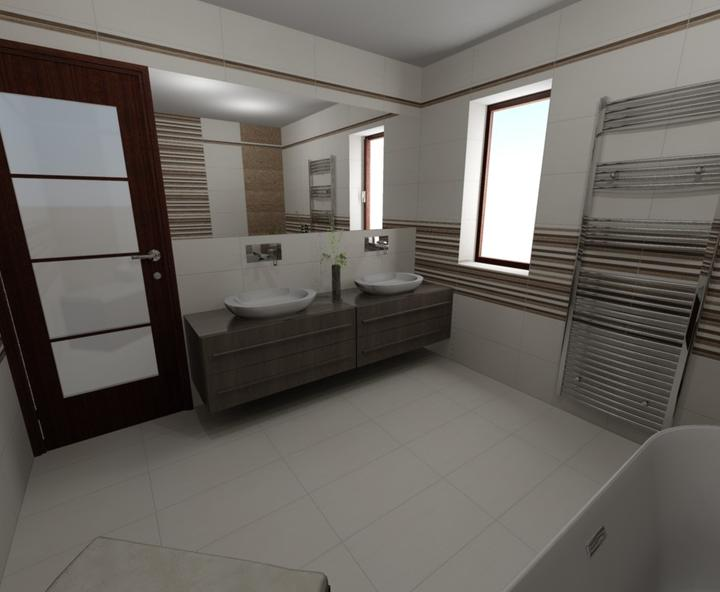 Prišiel nám už návrh kúpelne: Rako- Defile :) - Obrázok č. 1