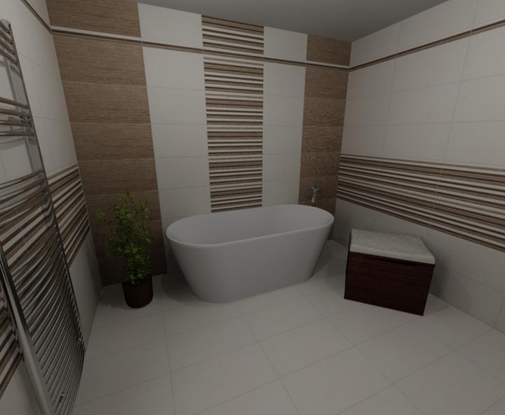 Prišiel nám už návrh kúpelne: Rako- Defile :) - Obrázok č. 2