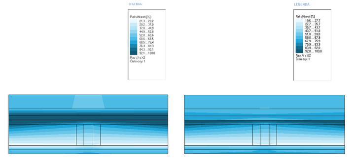 Priebeh vlhkosi v strop. konštrukcii - Obrázok č. 1