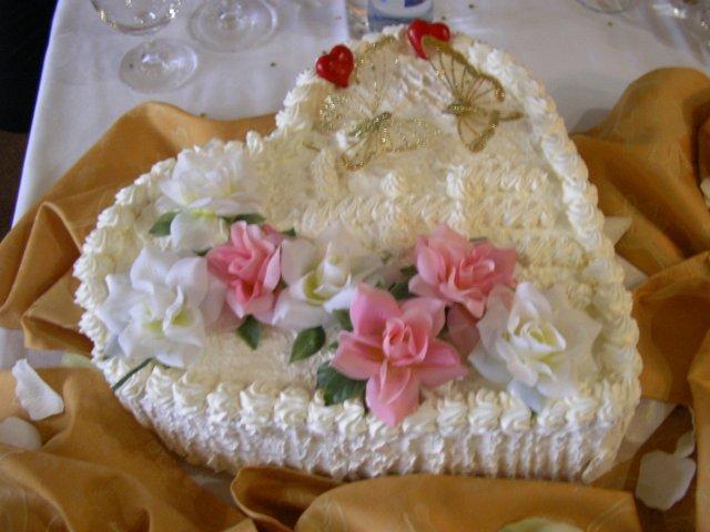 Júlia Czaková{{_AND_}}Peter Jaňák - svadobná torta