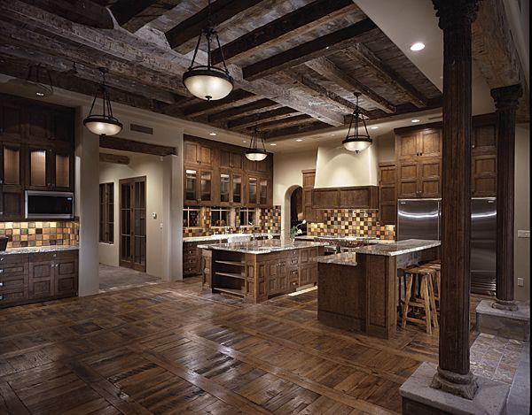 Rustikàlna kuchyňa, to je teplo domova - Obrázok č. 11