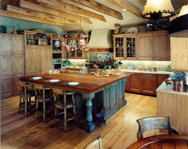 Rustikàlna kuchyňa, to je teplo domova - Parada!!