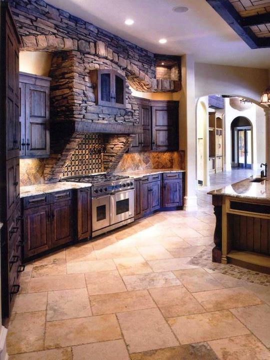 Rustikàlna kuchyňa, to je teplo domova - Obrázok č. 26